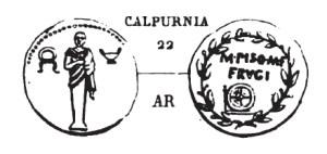 Denier Calpurnia _ RRC 418/1