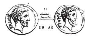 Denier Brutus _ RRC 433/2