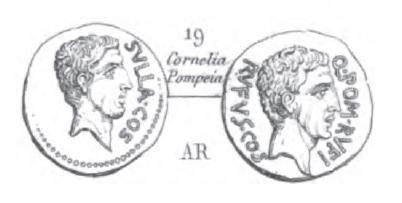Denier Pompeia _ RRC 434/1