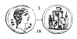 Denier Sulpicia _ RRC 438/1