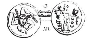 Denier Cornelia _ RRC 445/1