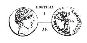 Denier Hostilia _ RRC 448/1