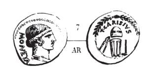Denier Carisia _ RRC 464/2