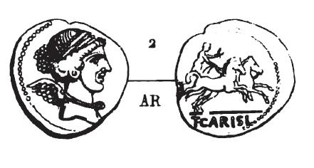 Denier Carisia _ RRC 464/4