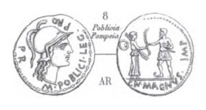 Denier Pompée _ RRC 469/1