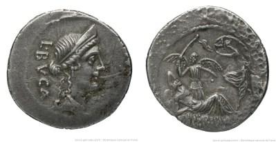 1524AE – Denier Aemilia – Lucius Æmilius Buca
