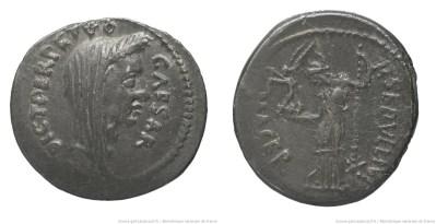 Read more about the article 1535JU – Denier César _ Publius Sepullius Macer