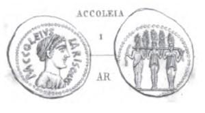 Denier Accoleia _ RRC 486/1