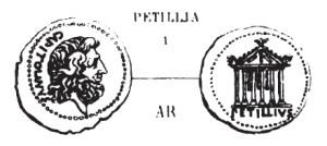 Denier Petillia _ RRC 487/1