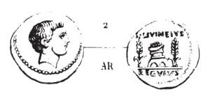 Denier Livineia _ RRC 494/29
