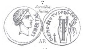 Denier Brutus _ RRC 501/1