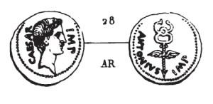 Denier Octave et Marc Antoine _ RRC 529/2