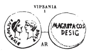 Denier Vipsania _ RRC 534/2