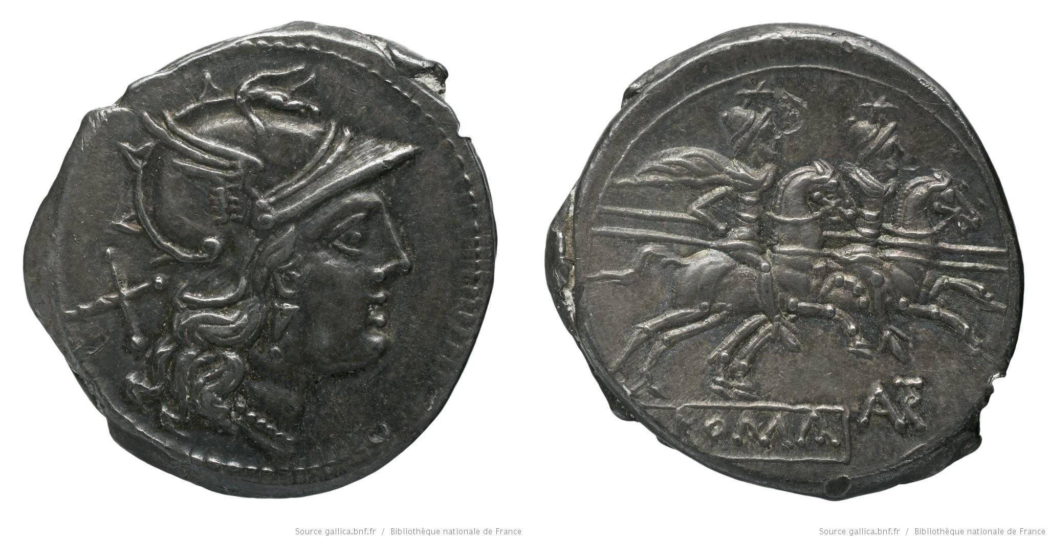 597AU – Denier Autronia – L. Autronius