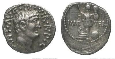 1737AN – Denier Marc Antoine – Marcus Antonius