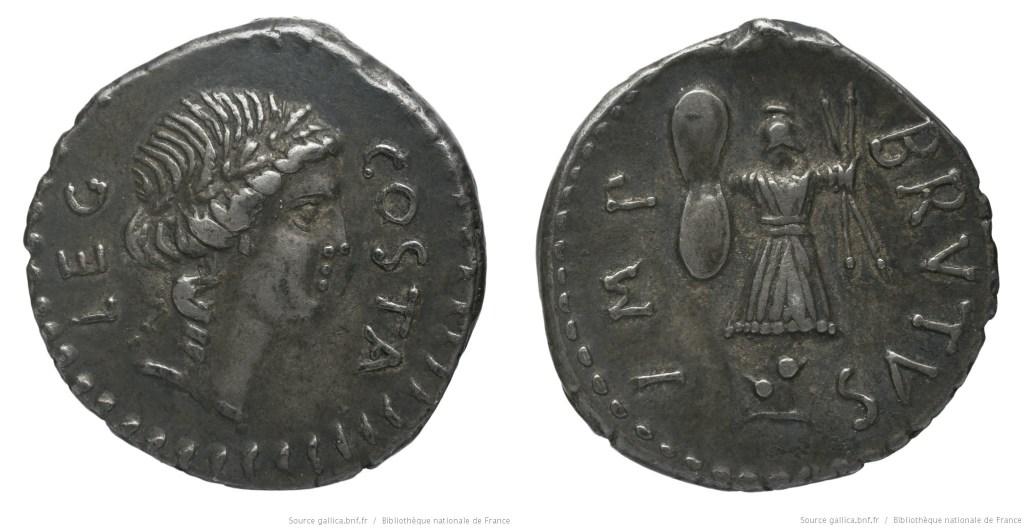1653JU – Denier Brutus – Pedanius Costa