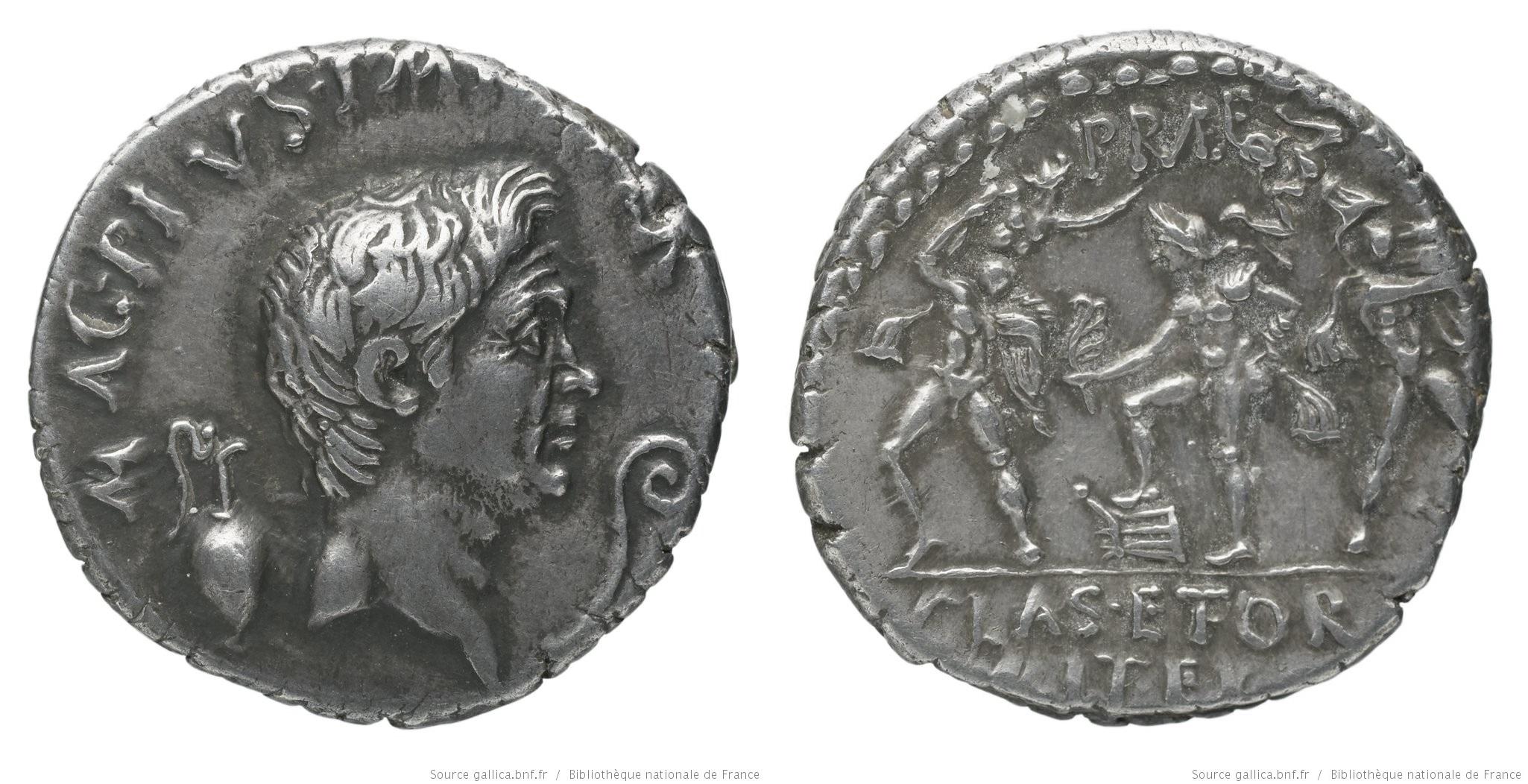 You are currently viewing 1668PO – Denier Sextus Pompée – Sextus Pompeius Magnus