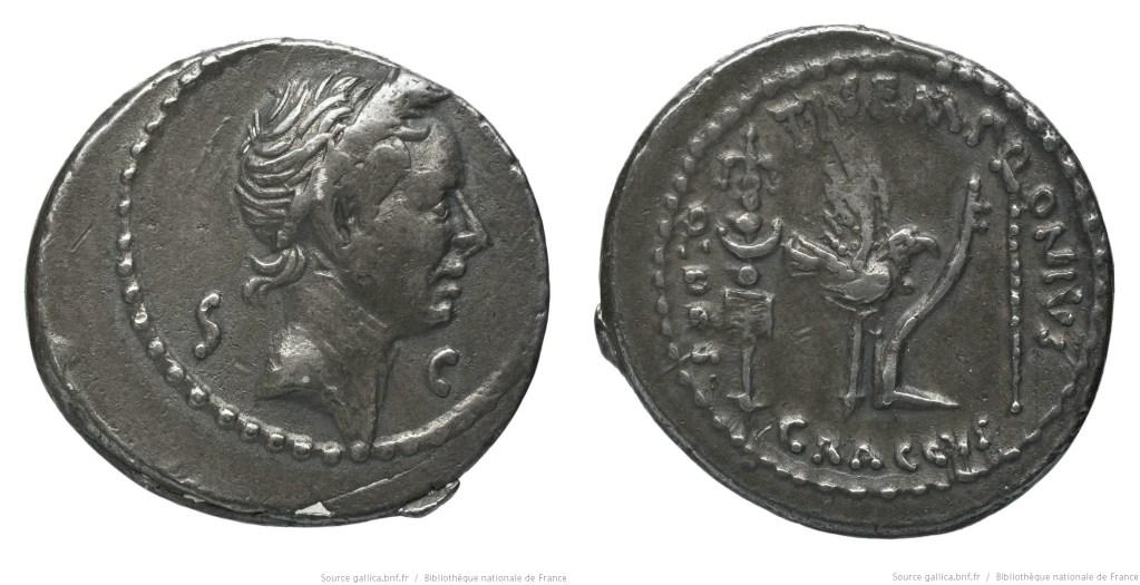 Read more about the article 1711JU – Denier César _ Tiberius Sempronius Graccus