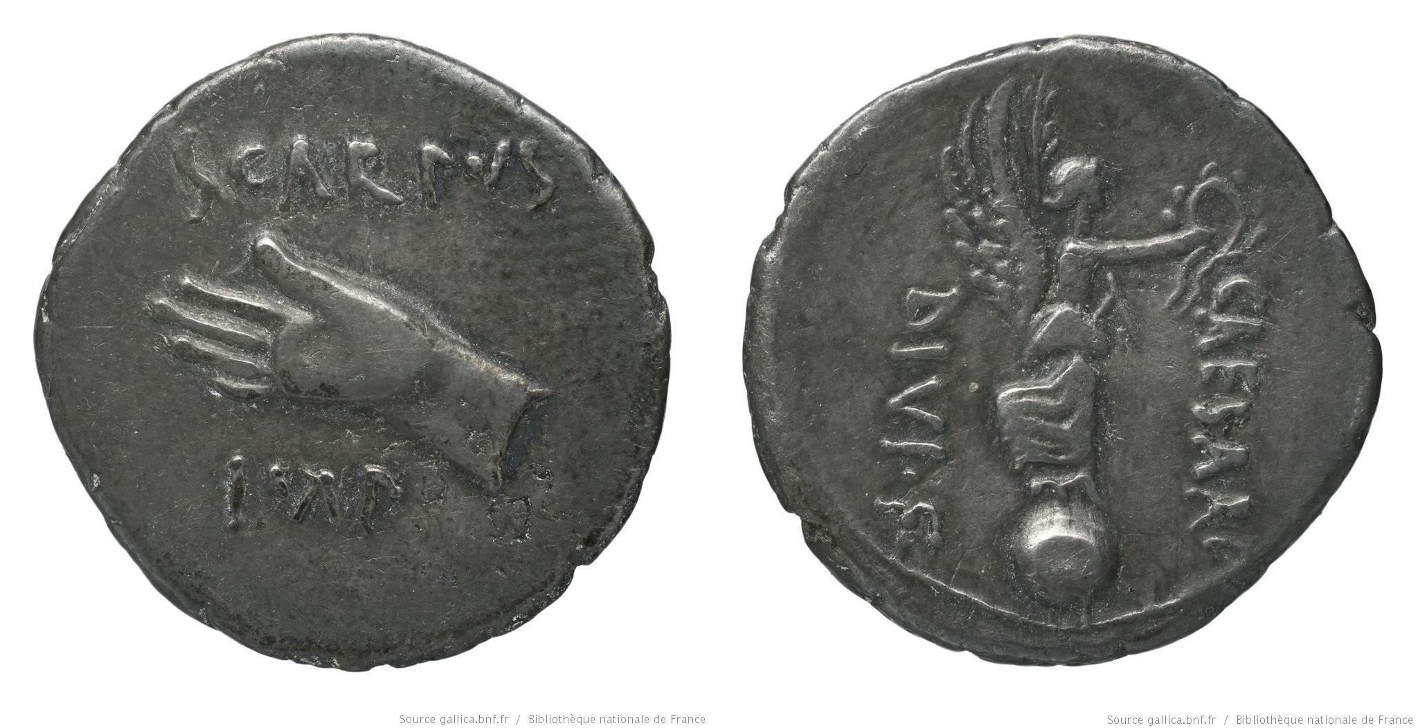 1805PI – Denier Pinaria – Lucius Pinarius Scarpus