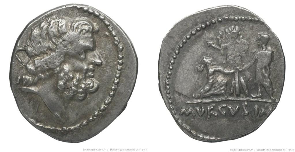 1665ST – Denier Statia – Lucius Statius Murcus