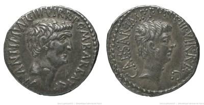 1686AN – Denier Marc Antoine et Octave – Marcus Antonius