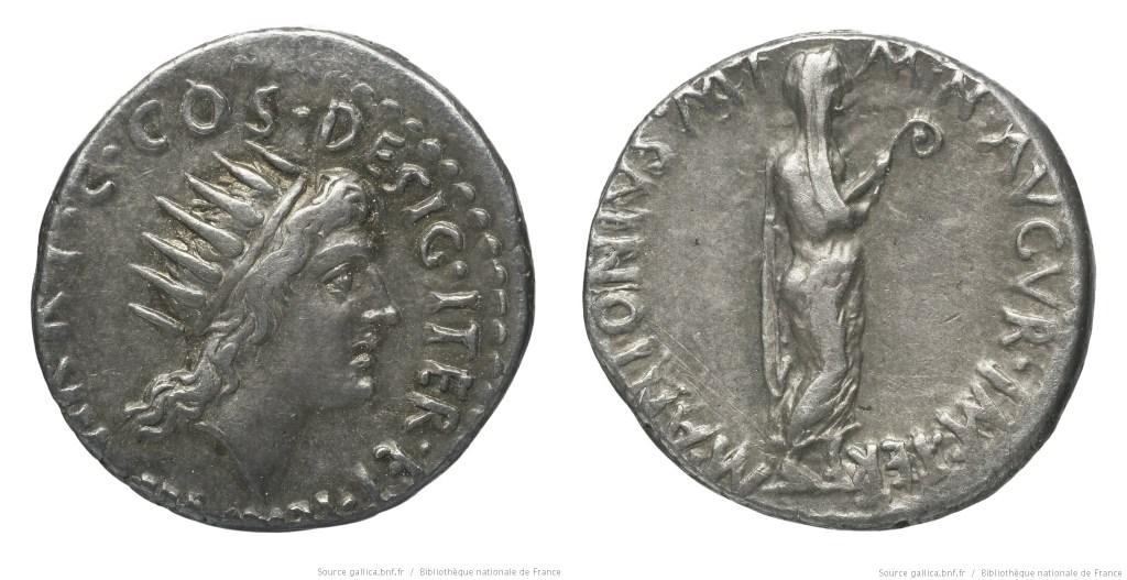 1728AN – Denier Marc Antoine – Marcus Antonius