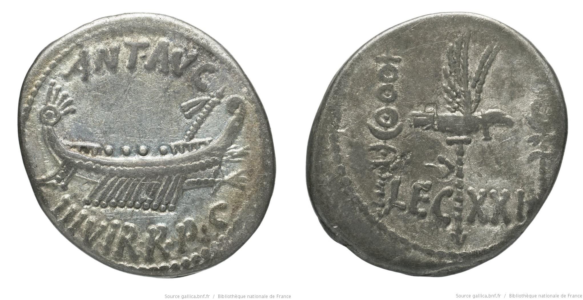 1787AN – Denier Marc Antoine – Marcus Antonius