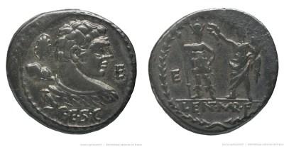 1165CO – Denier Cornelia – Publius Cornelius Lentulus Marcellinus