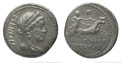 1283MA – Denier Marcia – Lucius Marcius Censorinus