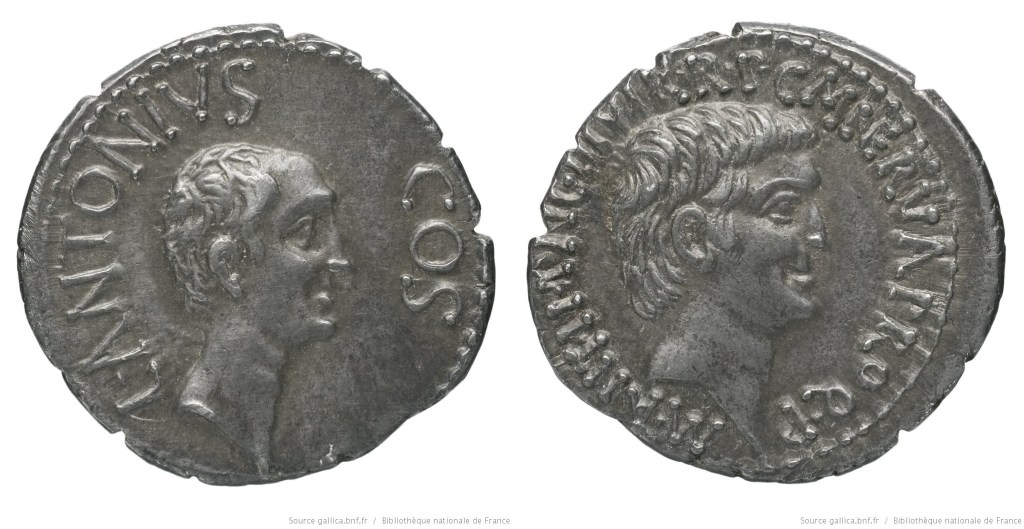 Read more about the article 1689AN – Denier Marc Antoine et Lucius Antoine – Marcus Antonius