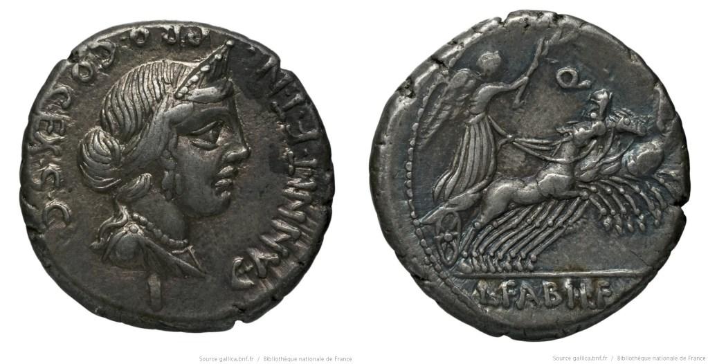 Read more about the article 1292AN – Denier Annia – Caius Annius Luscus