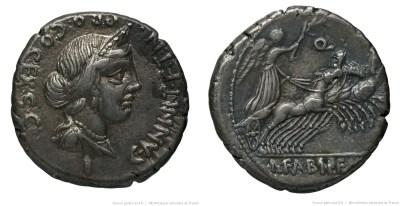 1292AN – Denier Annia – Caius Annius Luscus