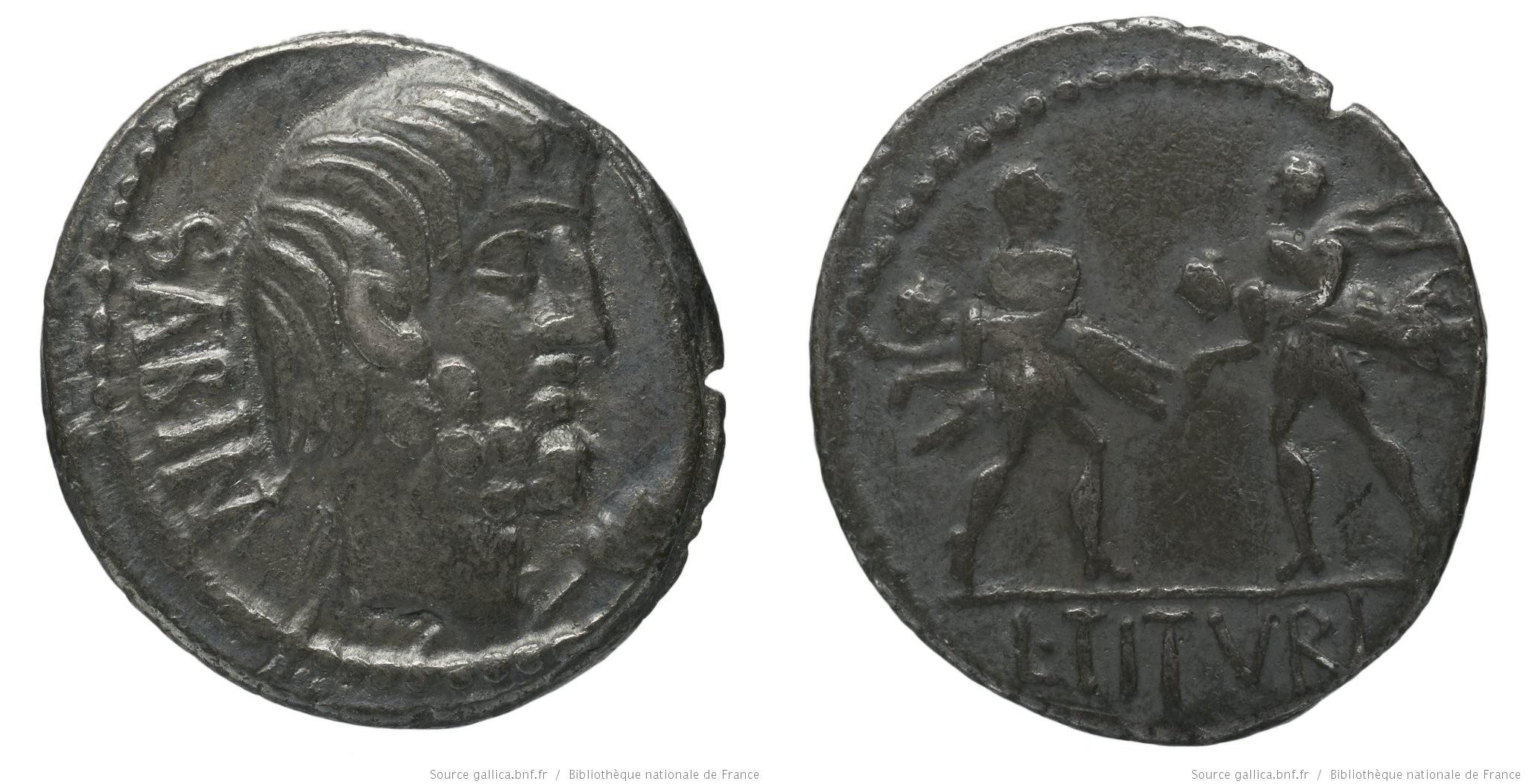 You are currently viewing 1231TI – Denier Tituria – Lucius Titurius Sabinus