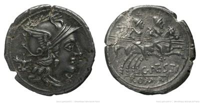 892AN – Denier Antestia – Caius Antestius