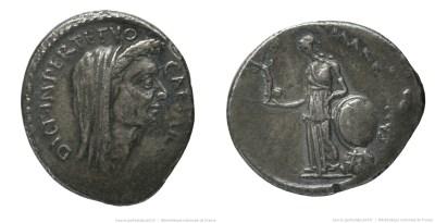 1537JU – Denier César – Caius Cossutius Maridianus