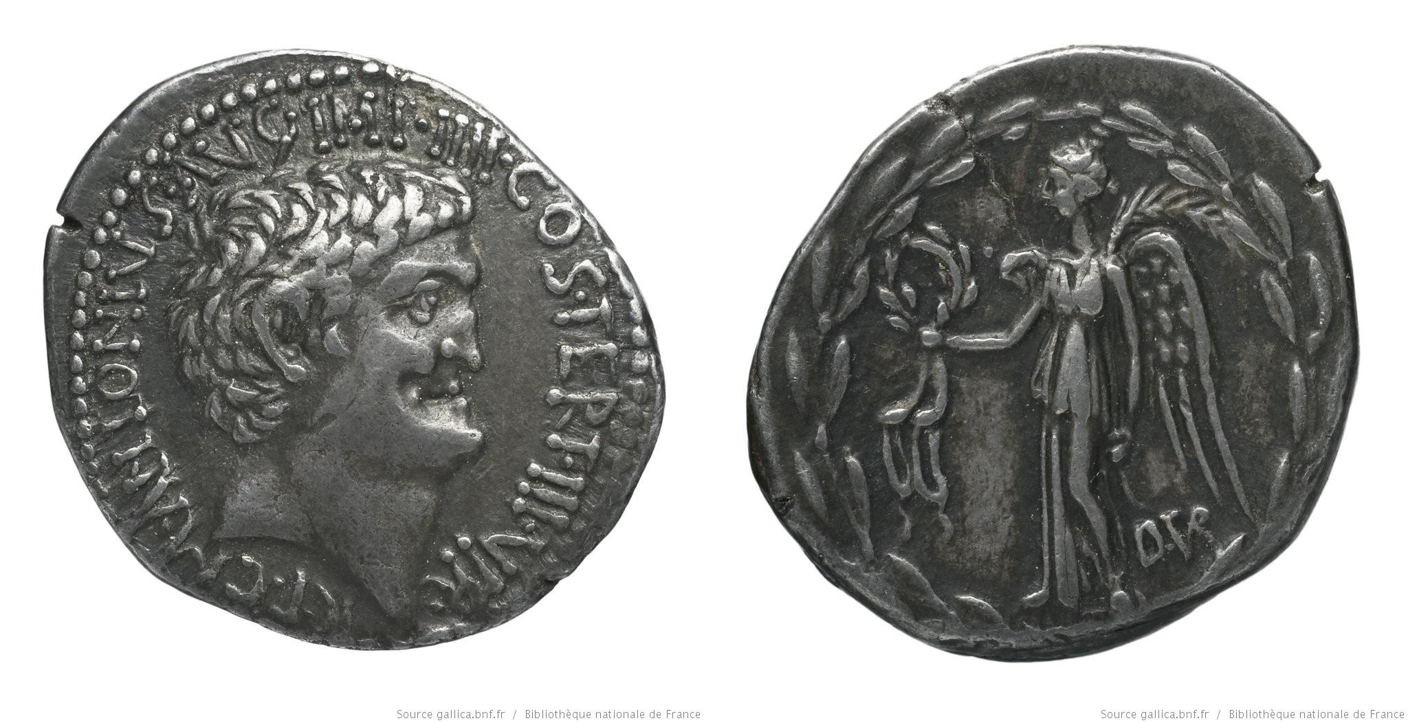 1797AN – Denier Marc Antoine – Decimus Turullius