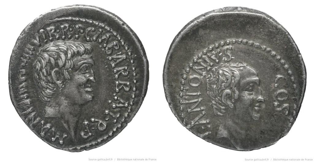 Read more about the article 1687AN – Denier Marc Antoine et Lucius Antoine – Marcus Antonius