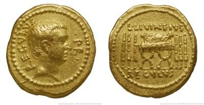 Read more about the article 1604LI – Aureus Livineia – Lucius Livineius Regulus