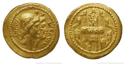 1678SU – Aureus Sulpicia _ Lucius Servius Sulpicius Rufus