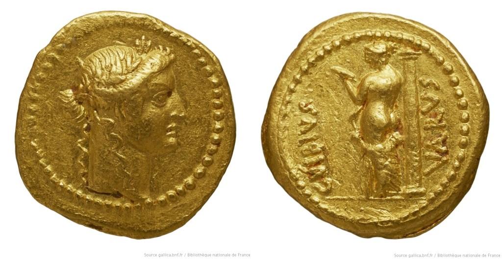 1612VI – Aureus Vibia – Caius Vibius Varus