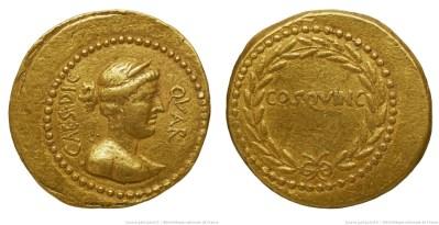 1550JU – Aureus César – Caius Julius Cæsar