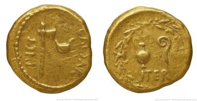 1459JU – Aureus César – Caius Julius Cæsar