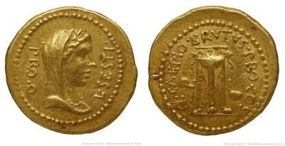 Read more about the article 1641JU – Aureus Brutus – Lucius Sestius Quirinalis