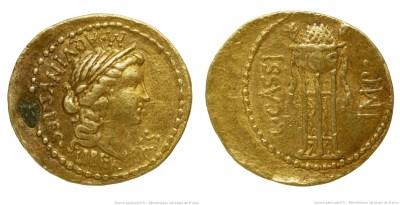 1631CA – Aureus Cassius – Caius Cassius Longinus