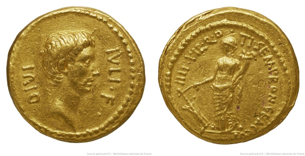 1708JU – Aureus Octave – Tiberius Sempronius Graccus