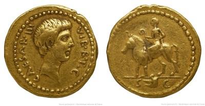 1628JU – Aureus Octave – Caius Julius Cæsar Octavianus
