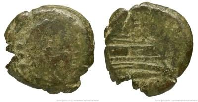 Read more about the article 550PL – Quadrans Plautia – Lucius Plautius Hypsaeus