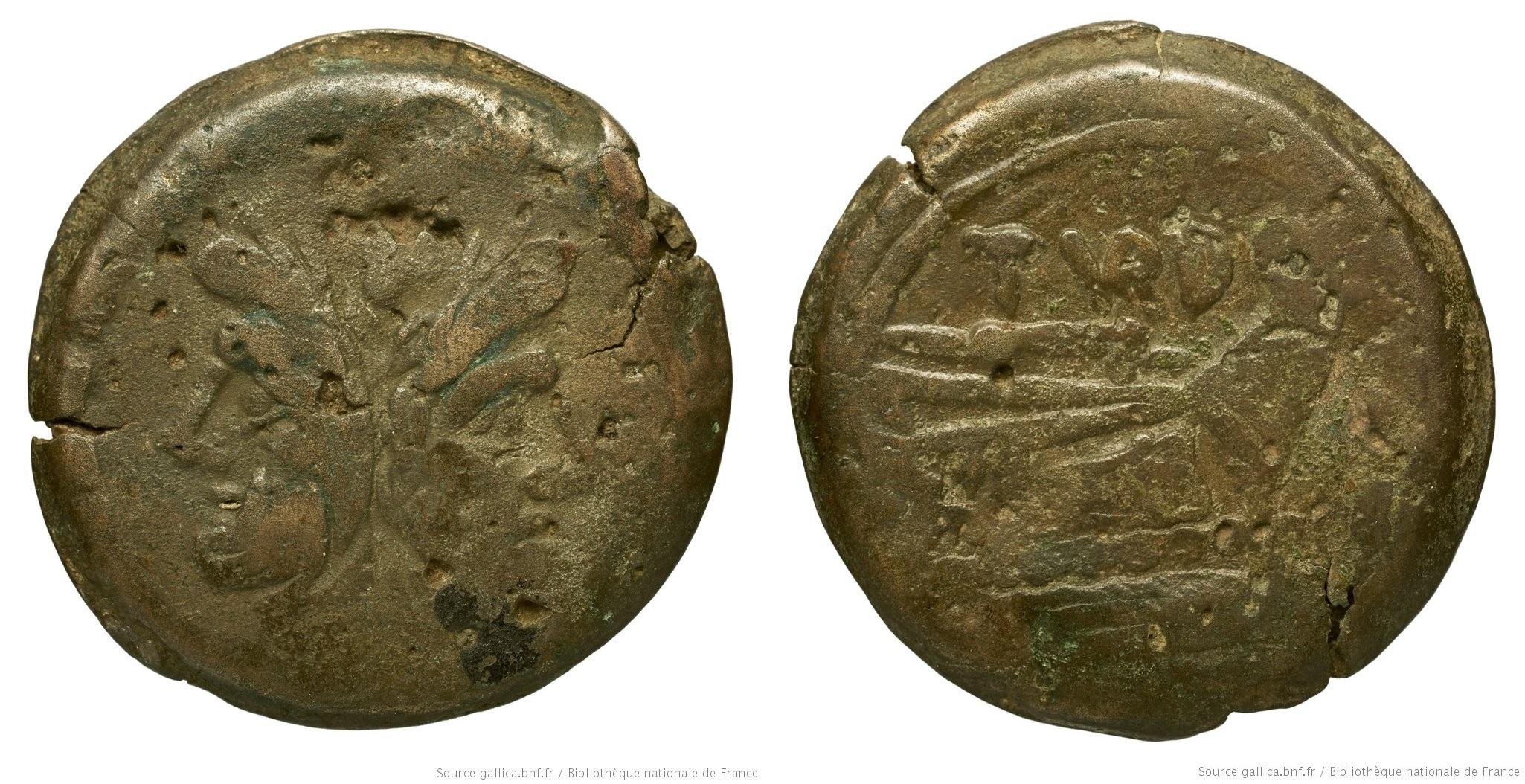 773PA – As Papiria – Papirius Turdus