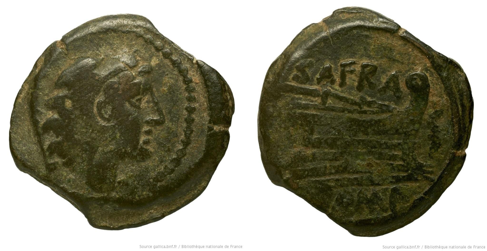 You are currently viewing 844AF – Quadrans Afrania – Spurius Afranius