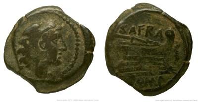 844AF – Quadrans Afrania – Spurius Afranius